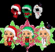 CHRISTMAS onsies #4 ~ by kaitlenxlove