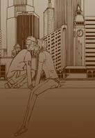City Love: Kiss by Shaz-da-baz
