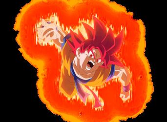 SSG Goku #4 by blackflim