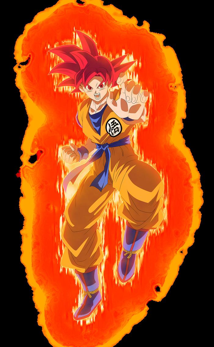 SSG Goku #5 by blackflim