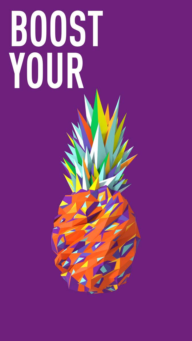 Fruit Series_Pineapple-1 by alperdurmaz