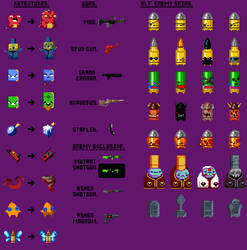 Gungeon Stuff I made for Fun by TitaniumGrunt7