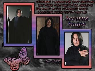 Severus Snape by lanibb