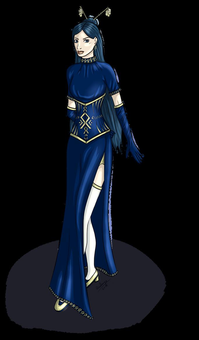 PA: Sinikka's dress by MissSleeper