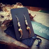 Replica Coyote Claw Earrings by Elorhan