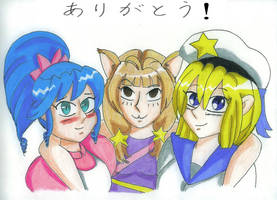 Our Memorable Mascots by yugi-chan-0taku