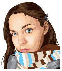 Self Portrait - Illustrator by TehLissness