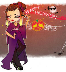 Halloween by konekochijo