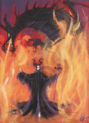 Maleficent by konekochijo