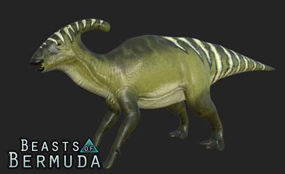 Leafy Parasaurolophus Skin by Misha-Zhirov