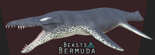 Leopard Seal Kronosaurus Skin by Misha-Zhirov