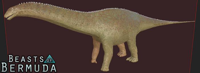 Reticulated Apatosaurus Skin by Misha-Zhirov