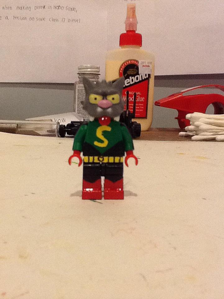 Lego custom Superhero Scratchy by ATB1996