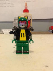 Lego custom SEGA Archie Metal Scourge by ATB1996