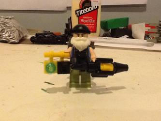 Lego custom Evolve Hank (READ DESCRIPTION) by ATB1996