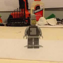 Lego custom futurama Bender by ATB1996