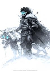 Jon Snow by AustenMengler
