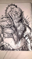 Orc Captain by AustenMengler