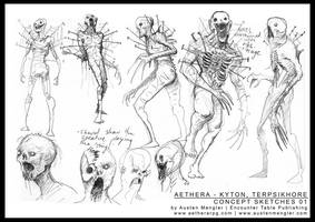 TERPSIKHORE - Concept Sketches 01 by AustenMengler