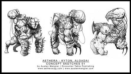 ALOADAI - Concept Sketches 01 by AustenMengler