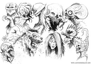 MONSTERS 06 by AustenMengler