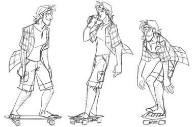 SteveSketches by cartoonjunkie