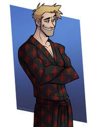 Constantine Robe by cartoonjunkie