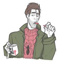 SpiderDad by cartoonjunkie