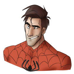 SpiderDad is best Dad by cartoonjunkie