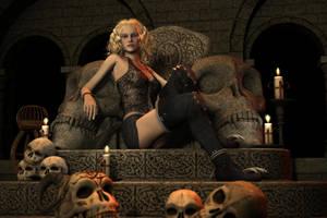 Skull Queen I by hhemken