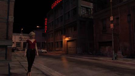 Backstreets at Night by hhemken