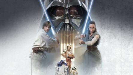 Star Wars Wallpaper TIME Magazine by Spirit--Of-Adventure