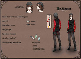 Creepypasta OC: The Silencer - Profile (in work) by DamianBloodlust