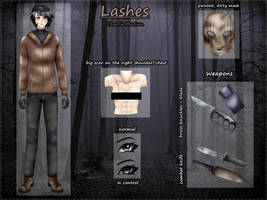 Slenderverse/Proxy Reference - Lashes by DamianBloodlust