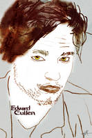 Edward Cullen drawing by Joetjuhh