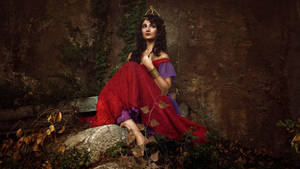Esmeralda - Red dress by AlexisDames