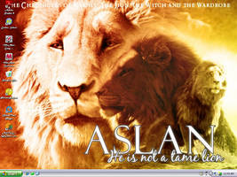 Aslan Desktop by Sugarlilly