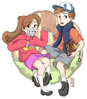 Gravity Falls by fishykays