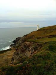 Cornish Lighthouse by Deb-e-ann