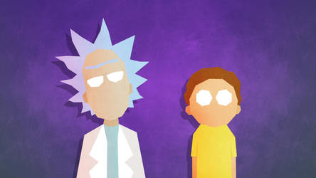 Rick and Morty by LEMMiNO