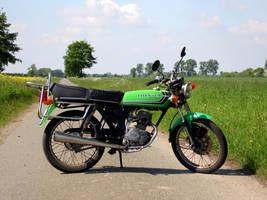 Honda CB50 by Ardgy