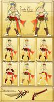 Dead Fantasy III: Pirate Rikku by lady-obsessed