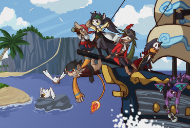 PKMNA: Off On An Adventure by lady-obsessed