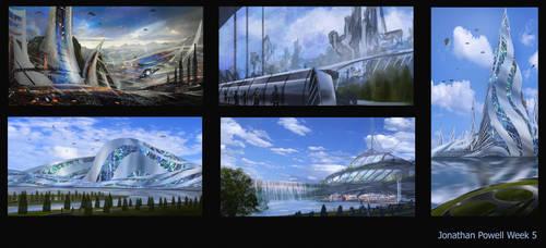 Architecture Thumbnails by ArtofJonathanPowell