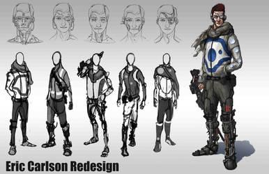 Eric Carlson Redesign by ArtofJonathanPowell