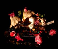 Litha Altar by El-Sharra