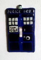 TARDIS light switch by El-Sharra