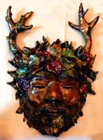 Horned God Mask by El-Sharra