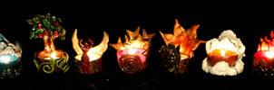 Elemental Tea Lights by El-Sharra