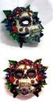 Sugar Skull Mask by El-Sharra